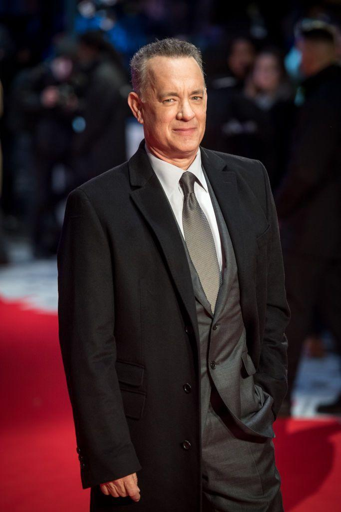 """<p>Now: Hanks' career needs no introduction. The actor has dominated Hollywood, with more than<a href=""""https://www.imdb.com/name/nm0000158/"""" rel=""""nofollow noopener"""" target=""""_blank"""" data-ylk=""""slk:90 acting credits"""" class=""""link rapid-noclick-resp""""> 90 acting credits</a> and too many massive box office wins to name. Hanks has two Academy Awards, eight Emmys, four Golden Globes, and two Screen Actors Guild Awards. He received two consecutive Oscar nominations for Philadelphia and Forrest Gump.</p>"""