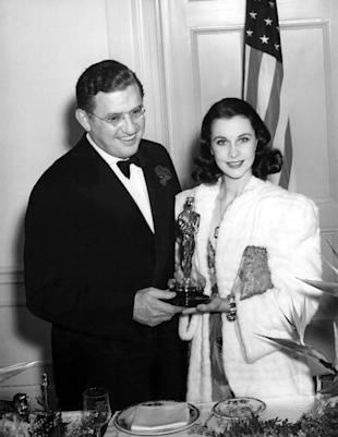 David O. Selznick and Vivien Leigh