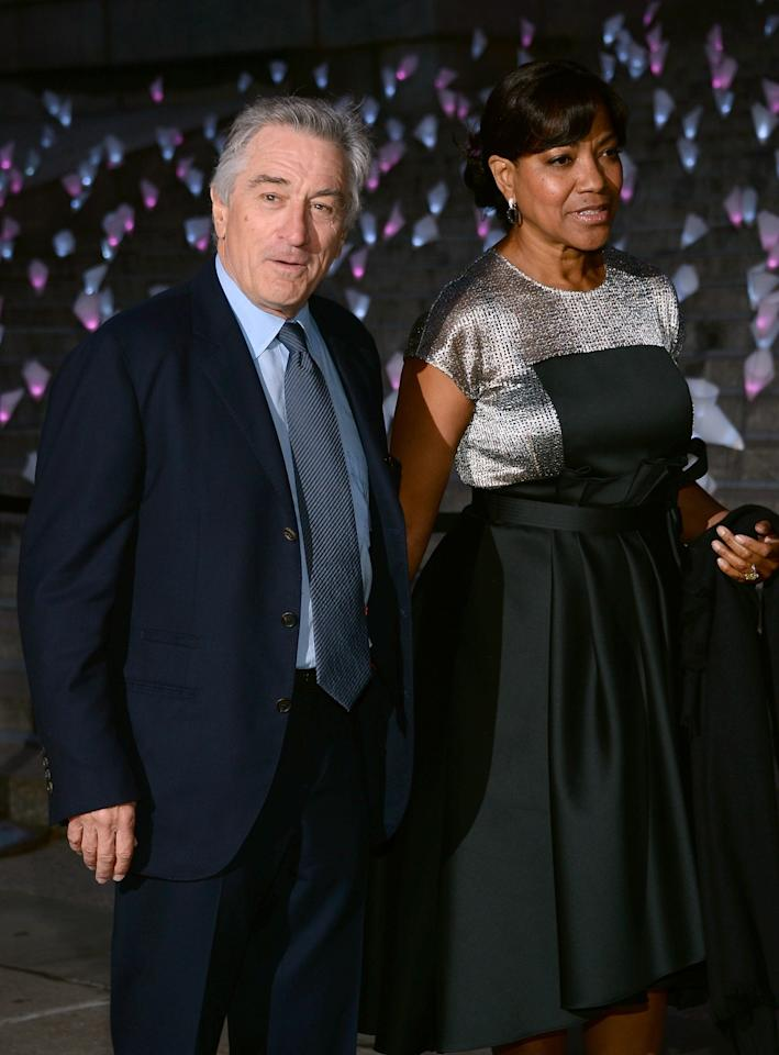 NEW YORK, NY - APRIL 16:  Robert De Niro and Grace Hightower attend Vanity Fair Party for the 2013 Tribeca Film Festival on April 16, 2013 in New York City.  (Photo by Dimitrios Kambouris/Getty Images)