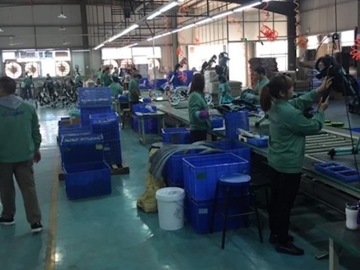 clicgear factory floor
