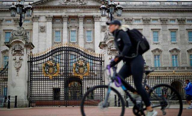 Millions of people have discovered cycling during the coronavirus crisis, the British government says (AFP Photo/Tolga Akmen)