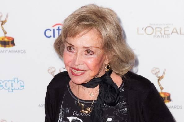 Actress June Foray arrives at the Academy of Television Arts & Sciences' 65th Primetime Emmy Awards Performer Nominee Reception at Spectra by Wolfgang Puck at the Pacific Design Center on September 20, 2013 in West Hollywood, California.