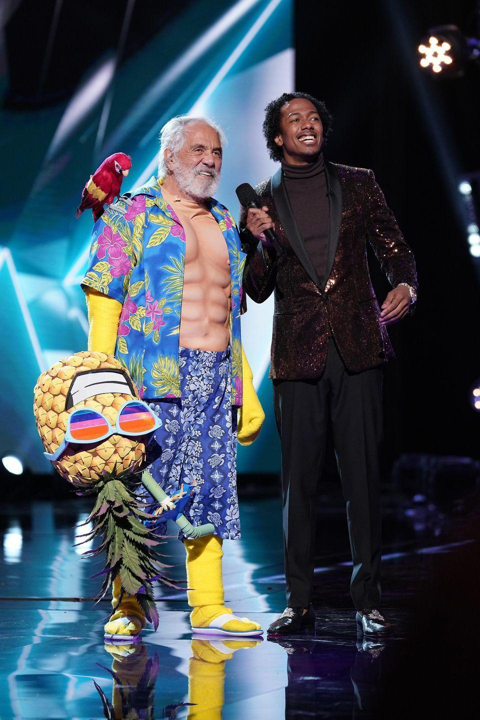 """<p>Since the show is prerecorded, the audience has to <a href=""""https://www.bustle.com/p/the-masked-singer-season-2-security-is-going-to-make-it-even-harder-to-guess-whos-behind-the-masks-15932606"""" rel=""""nofollow noopener"""" target=""""_blank"""" data-ylk=""""slk:sign a nondisclosure agreement"""" class=""""link rapid-noclick-resp"""">sign a nondisclosure agreement</a> before they attend a taping, which prevents them from spoiling the results before the episode airs.</p>"""