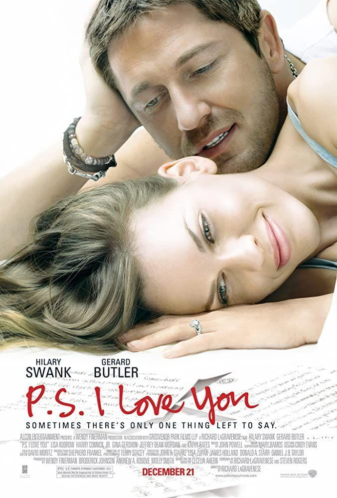 "<p>Grab the tissues before you watch this tearjerking favorite. Young widow Holly (Hilary Swank) is grieving her late husband (Gerard Butler), who died of a brain tumor when she starts finding messages from her late beau, encouraging her to move on. It's a beautiful story about how love can transcend even death. </p><p><a class=""link rapid-noclick-resp"" href=""https://www.netflix.com/title/70077546"" rel=""nofollow noopener"" target=""_blank"" data-ylk=""slk:STREAM NOW"">STREAM NOW</a></p>"