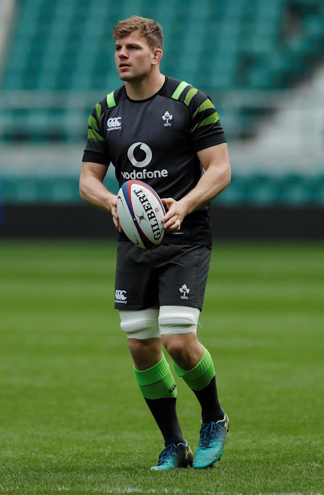 Rugby Union - Ireland Captain's Run - Twickenham Stadium, London, Britain - March 16, 2018 Ireland 's Jordi Murphy during the captains run Action Images via Reuters/Andrew Couldridge