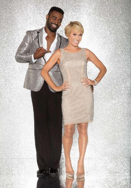 PHOTO: Barbara Corcoran and pro dancer Keo Motsepe will compete for the mirror ball title on the new season 'Dancing With The Stars.' (Craig Sjodin/ABC)