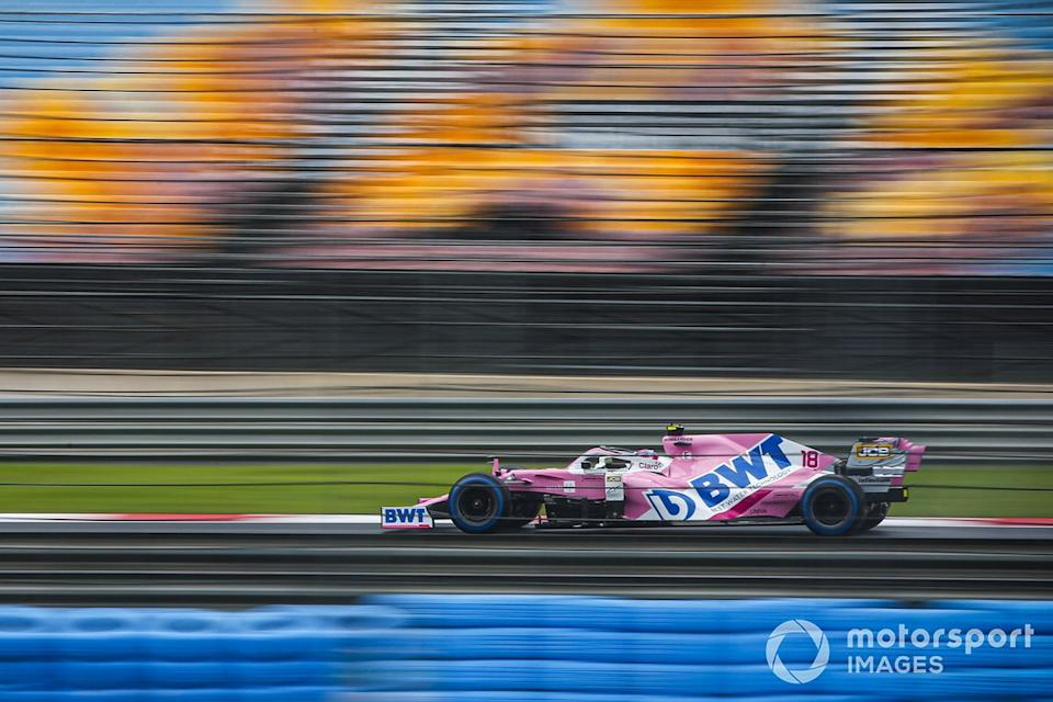 "Lance Stroll, Racing Point RP20<span class=""copyright"">Andy Hone / Motorsport Images</span>"