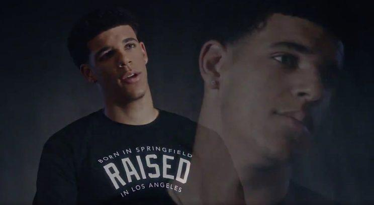 The Lonzo Ball eye roll is on point. (Foot Locker)
