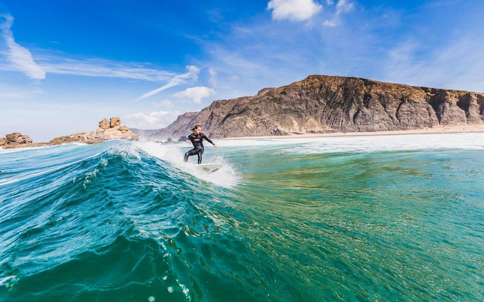 Head south to enjoy the Algarve's top surfing spots
