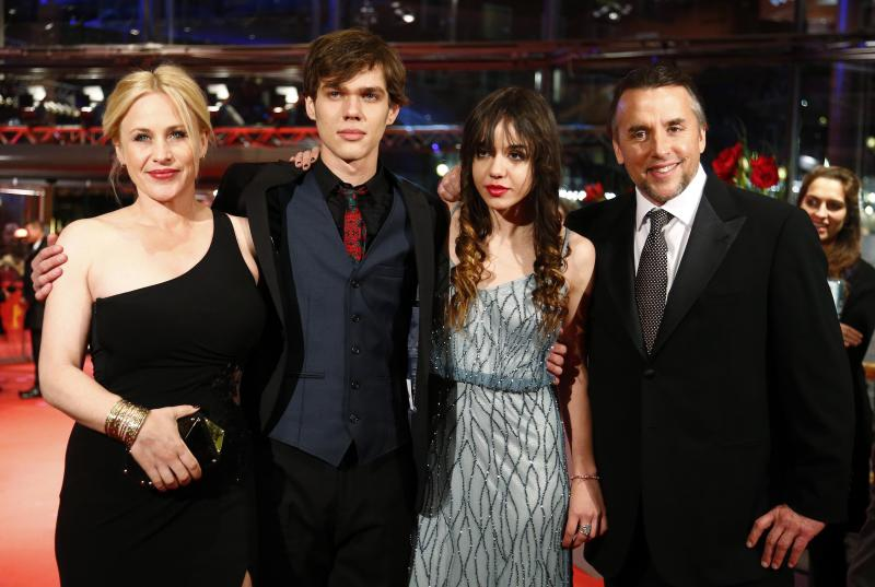 Director Linklater and cast members arrive on red carpet during 64th Berlinale International Film Festival in Berlin
