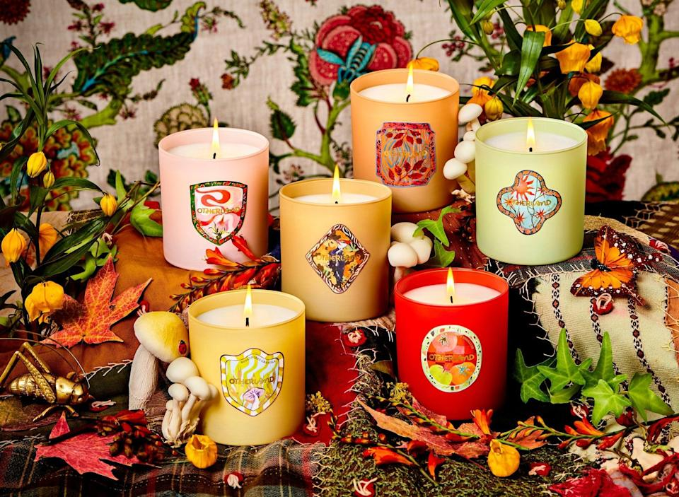 """<p>""""There's really no such thing as having too many candles, and I'll be splurging on a few new pieces from the <span>Otherland Homestead Collection</span> ($36 each). From woodsy to rose-scented smells, there are so many good choices, I just might need them all."""" - KJ</p>"""