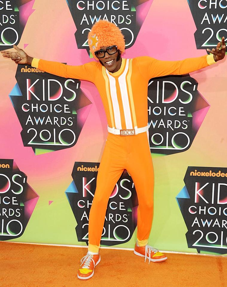 """""""Yo Gabba Gabba!"""" host Lance Robertson (aka DJ Lance Rock) delivered some much-needed flavor in his Creamsicle-like look. Jason Merritt/<a href=""""http://www.gettyimages.com/"""" target=""""new"""">GettyImages.com</a> - March 27, 2010"""