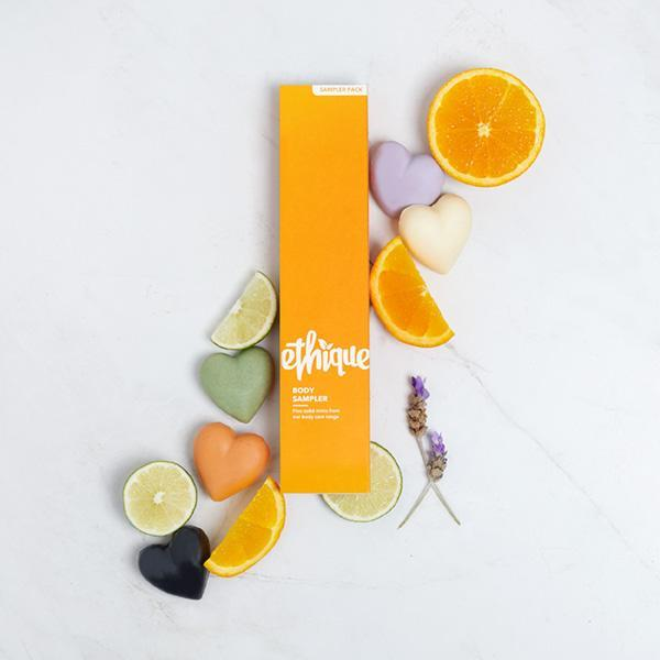 Ethique Body Sampler, $25. Photo: supplied.