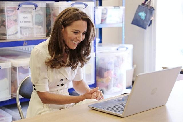 The Duchess of Cambridge visits Baby Basics UK And Baby Basics Sheffield