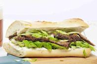 "<p>Skip your #saddesklunch and give this exciting beef sandwich a go: Toss beef and seasonings in the slow cooker overnight; pack it up with rolls, lettuce, and lime mayo. </p><p><em><a href=""https://www.goodhousekeeping.com/food-recipes/easy/a34183/tex-mex-beef-sammies"" rel=""nofollow noopener"" target=""_blank"" data-ylk=""slk:Get the recipe for Tex-Mex Beef Sammies »"" class=""link rapid-noclick-resp"">Get the recipe for Tex-Mex Beef Sammies »</a></em> </p>"