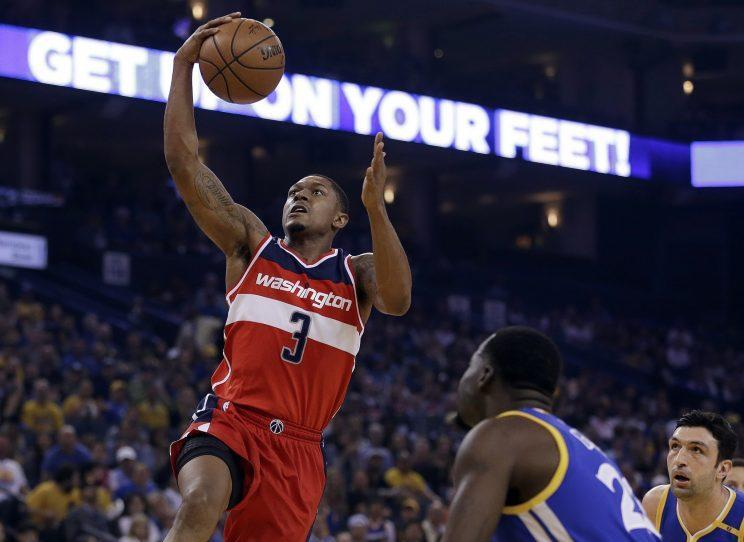 Bradley Beal is now one of the NBA's best shooting guards. (AP)