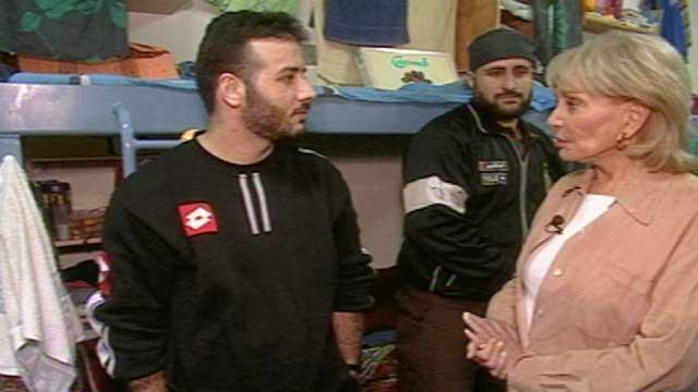 At Ease With Barbara Walters - and Hamas Fighters - in Israeli Prison