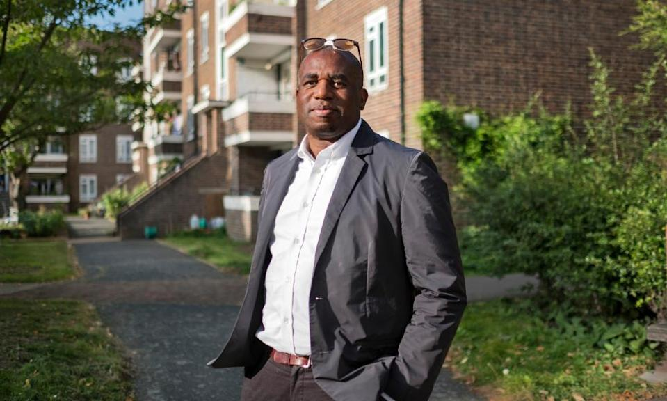 Solutions to a divided Britain … David Lammy.