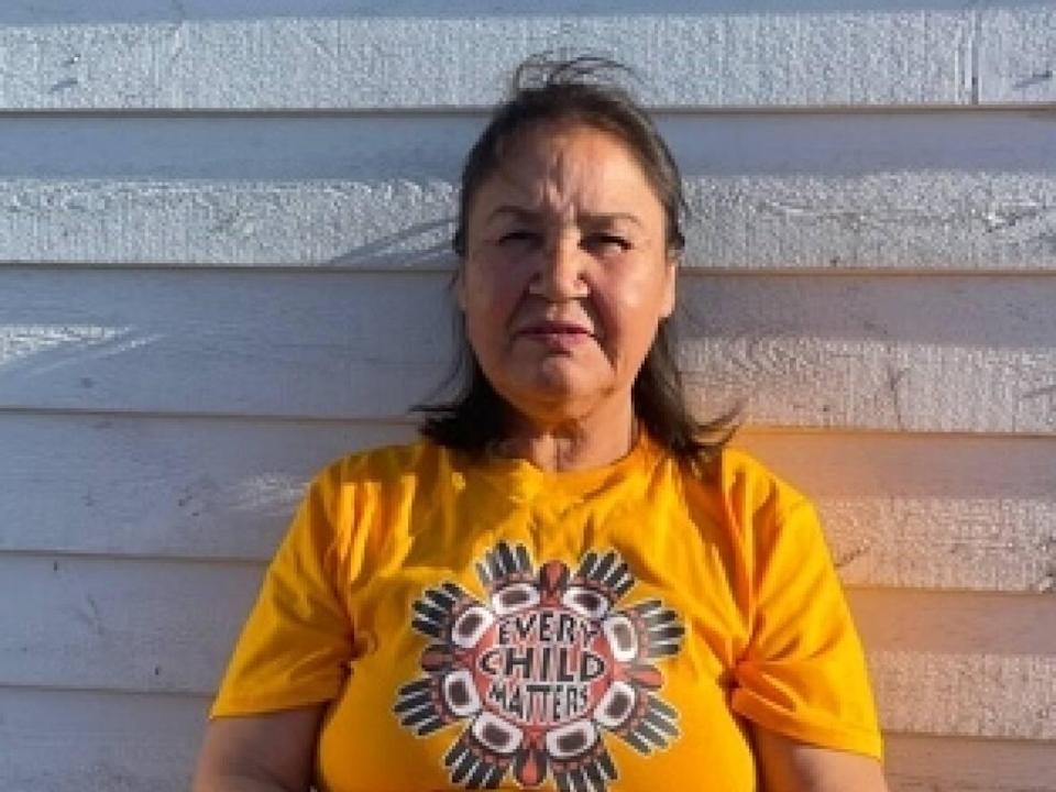 Christine Poker, an addictions counsellor at the Mushuau Innu healing lodge, says Father Anthony Ahn told her some of the traditional healing methods they practise are 'evil,' a charge he denies. (Submitted by Prote Poker - image credit)