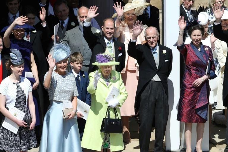 The wedding was like no other the royal family has ever staged