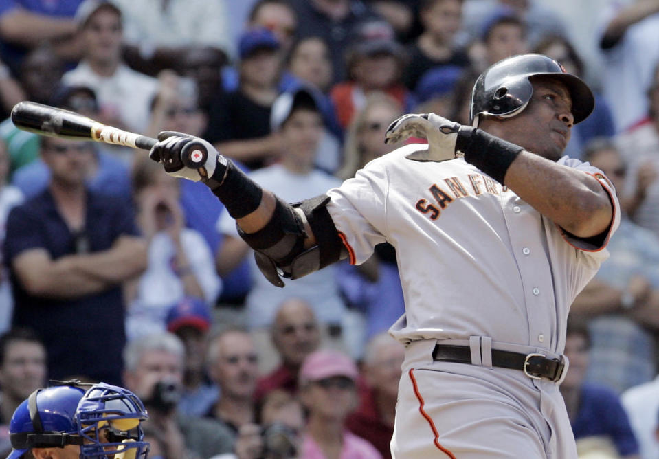 Barry Bonds retired as MLB's all-time home run leader. (AP)