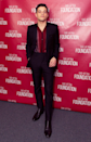 <p>On November 27, Rami Malek demonstrated his sartorial know-how in a chic suit by Anthony Vaccarello for Saint Laurent. <em>[Photo: Getty]</em> </p>