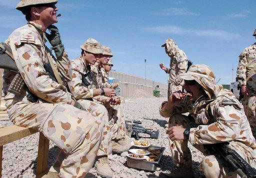 Most of Australia's 1,550 troops in Afghanistan are based in Uruzgan province