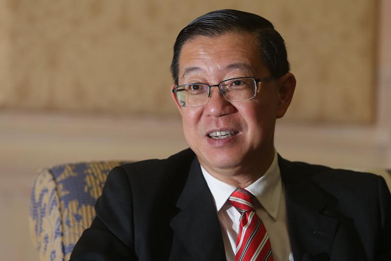 Finance Minister Lim Guan Eng said the HSR project 'made sense' but indicated that the Mahathir administration is delaying the HSR due to its 'exorbitant' cost. — Picture by Choo Choy May
