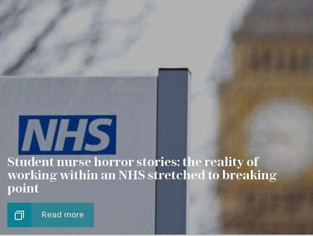 NHS student horror stories