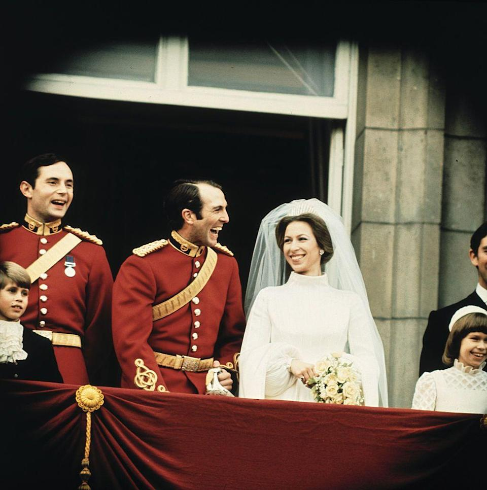 """<p><strong>When did they meet? </strong>1968</p><p><strong>How did they meet? </strong>Much like her daughter Zara, <a href=""""https://www.cosmopolitan.com/uk/reports/a36092270/princess-anne-tribute-prince-philip/"""" rel=""""nofollow noopener"""" target=""""_blank"""" data-ylk=""""slk:Princess Anne"""" class=""""link rapid-noclick-resp"""">Princess Anne</a> was a championship equestrian in the 1960s and 70s. </p><p>While attending the 1972 Olympics in Munich, she met another keen equestrian, Mark Phillips, and the pair embarked on a whirlwind romance.</p>"""