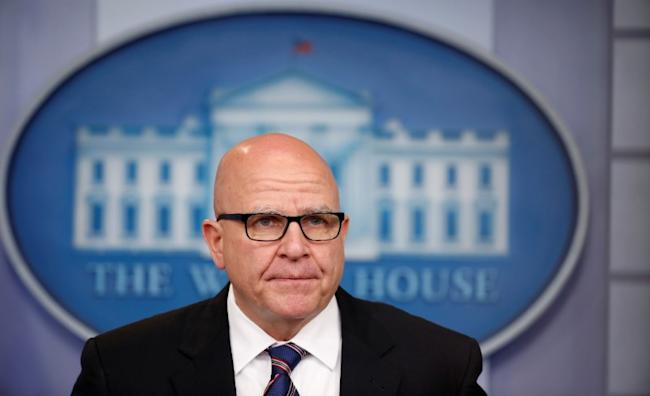 White House national security advisor H.R. McMaster speaks to reporters in the White House briefing room in Washington, U.S., May 16, 2017. REUTERS/Joshua Roberts