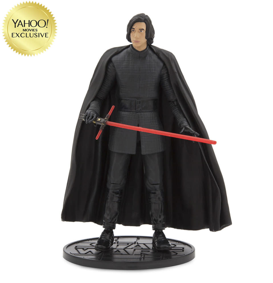 """<p>""""The dark warrior is unmasked and focused on destroying the Resistance."""" $26.95/DisneyStore.com (Photo: Disney Store) </p>"""