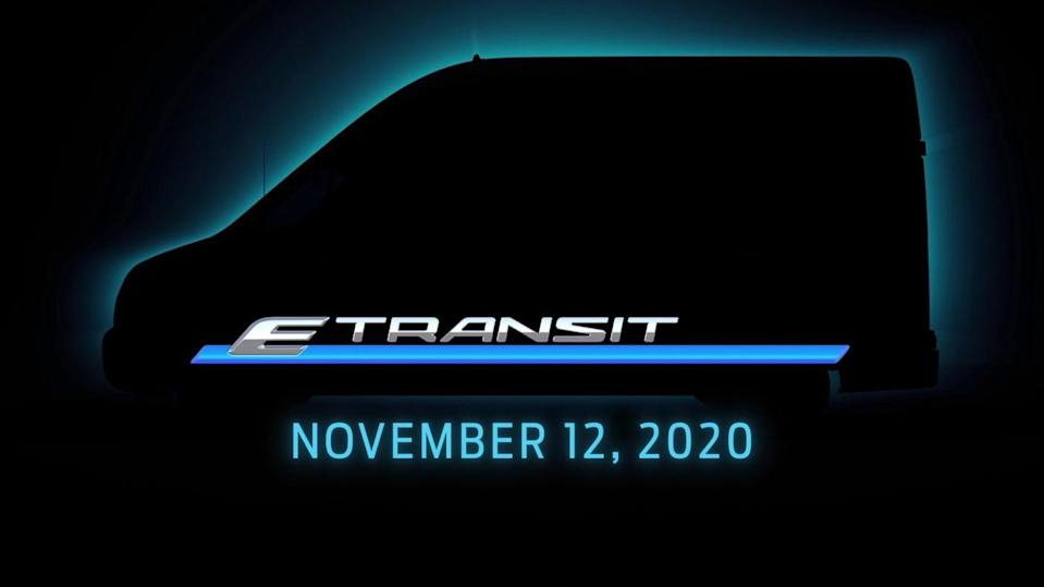 Ford Will Reveal a Battery-Electric Transit Commercial Van Next Month