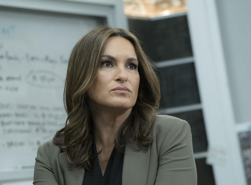 "Mariska Hargitay as Olivia Benson in ""Law & Order: SVU"""