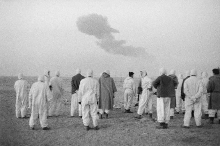 Between 1960 and 1966, France conducted 17 atmospheric or underground nuclear tests deep in the Sahara desert of Algeria