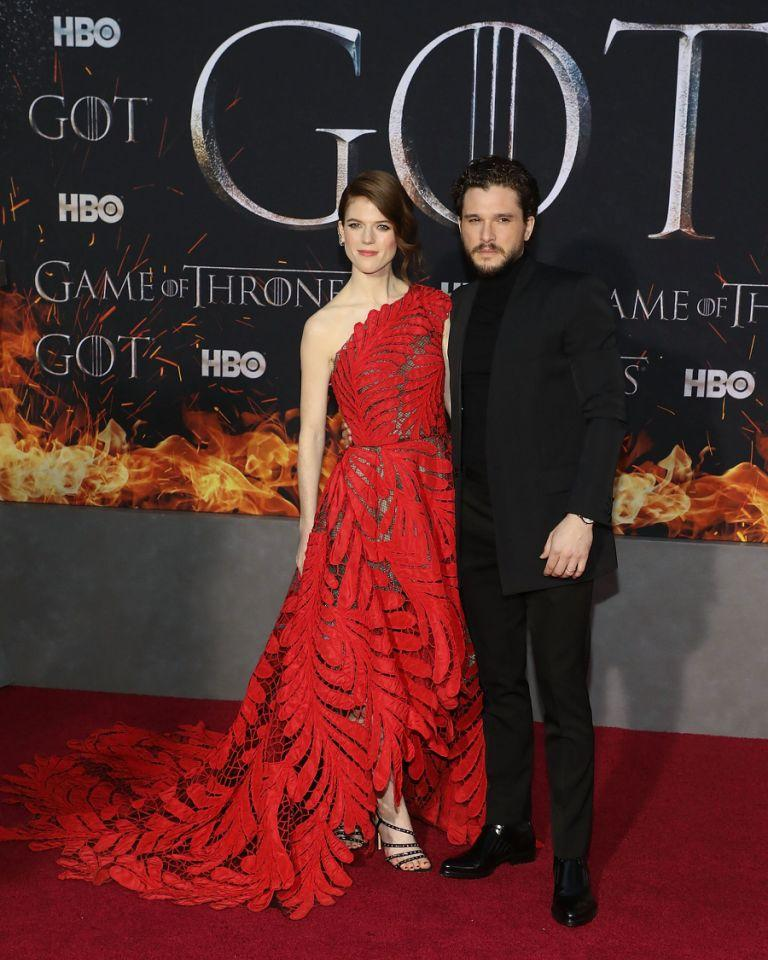 Kit is married to wife Rose Leslie