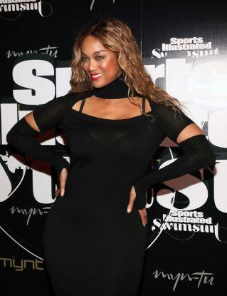 Tyra Banks at the SI Swimsuit On Location Closing Party