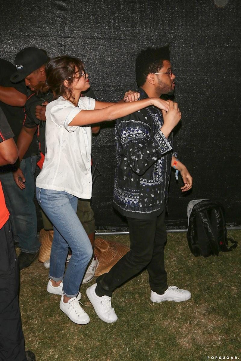 The Weeknd and Selena Gomez Hold Hands at Coachella Amid Surprise Performance Rumors