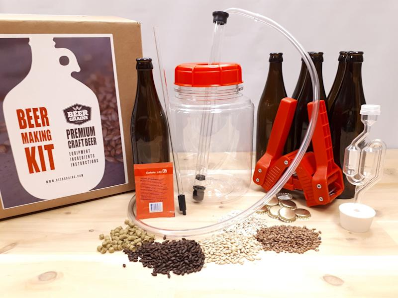 Beer Making Kit. Image via Etsy.