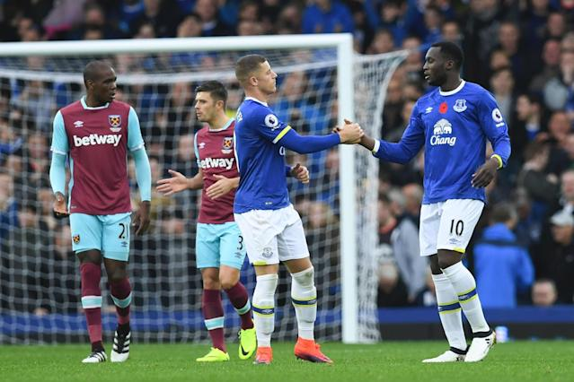 Ross Barkley and Romelu Lukaku
