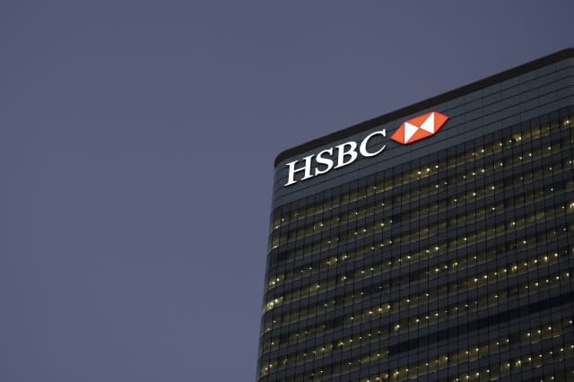 HSBC Holdings Plc Headquarters And Bank Branches As Tax Scandal Threatens Chairman Douglas Flint