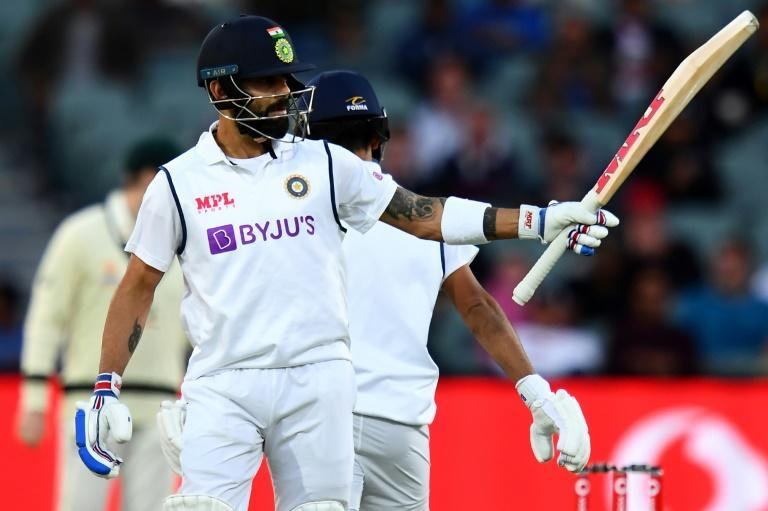 Virat Kohli rode his luck to steer India through the opening day of their Test with Australia
