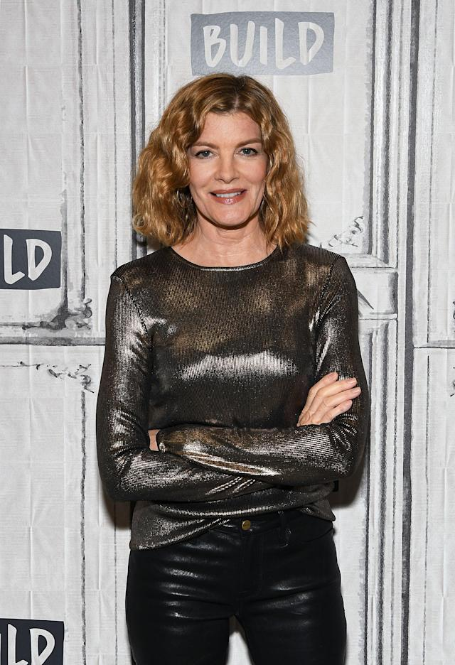 Rene Russo at Build Studio NYC on Dec. 4. (Photo: Getty Images)