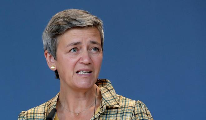 EC Vice-President Margrethe Vestager is expected to press China for greater commitments on market access, research reciprocity and the compatibility of AI with human rights, a source says. Photo: Reuters