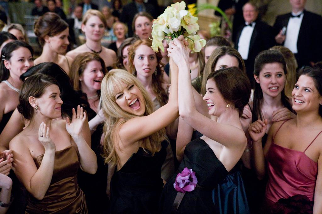 """2 NOMINATIONS -- <a href=""""http://movies.yahoo.com/movie/1810022011/info"""">Bride Wars</a>  Best Female Performance - <a href=""""http://movies.yahoo.com/movie/contributor/1804705919"""">Anne Hathaway</a>  Best Fight"""