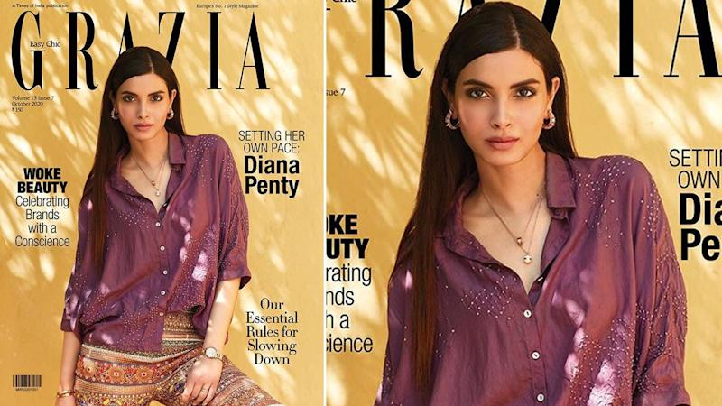 Diana Penty's Presence On The Cover of Grazia India's October 2020 Issue Is Chic (View Pic)