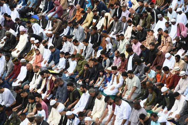 In previous years, thousands of people attended Birmingham's Eid celebration of the end of Ramadan