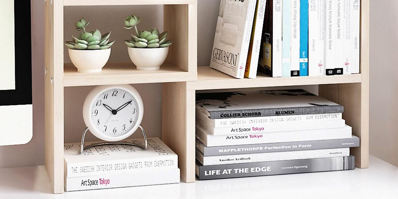"""<p>Even if you're not heading back to school this year, there's something about buying all-new desk accessories that helps usher in that """"fresh start"""" feeling. </p><p>If you have a mess of files to organize or loose paperclips lodged in every nook and cranny of your desk, start by <a href=""""https://www.themuse.com/advice/marie-kondo-method-spark-joy-at-work"""" target=""""_blank"""">KonMari-ing your workspace</a>, getting it down to just the most well-used and joy-sparking objects that you own, then keep it tidy by using one of these 10 desk organizers to provide a dedicated place to hold every little thing at the ready.</p>"""