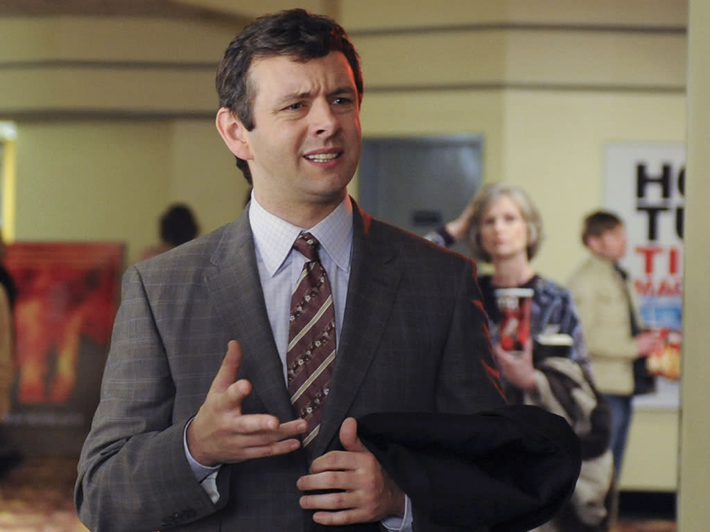 "30 ROCK -- ""Don Geiss, America, and Hope"" Episode 415 -- Pictured: Michael Sheen as Wesley"