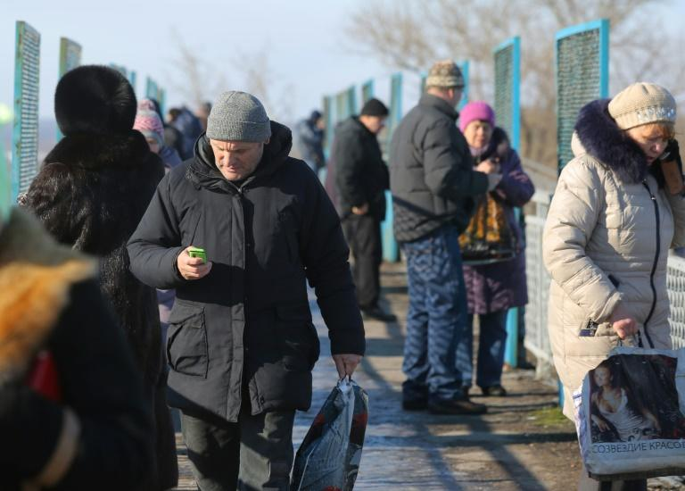 Vodaphone Ukraine's mobile phone service went out in the east after a fibre optic line cut in January